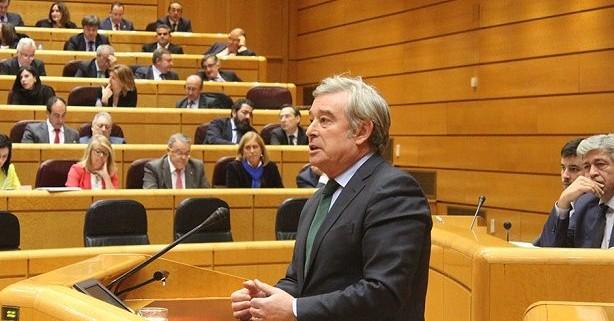 José Manuel Barreiro, senador del PP