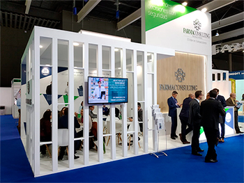Farmaconsulting stand Infarma