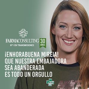 Mireia Belmonte embajadora de Farmaconsulting